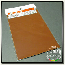 Model Factory Hiro Adhesive Leather-Look Cloth for Seat: Brown 100mm x 150mm