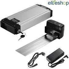 SALDI Lithium-io Batteria 36V 10,4Ah per Ebike Kit Bici Elettrica su Portapacchi