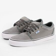 NEW VANS CHUKKA LOW (MEDIUM GREY/RIPSTOP) - MEN'S SKATE SHOES SIZE 6.5