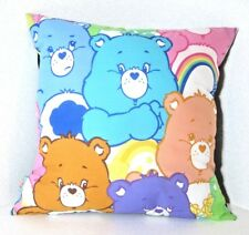 CARE BEARS 80S GRUMPY FUNSHINE BEAR HANDMADE CUSHION BY GEEK BOUTIQUE 16 X 16""