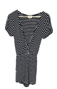 Seed Heritage Casual Striped Stretchy Playsuit - Size Small