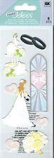 Jolee's WEDDING 3d Scrapbook Stickers