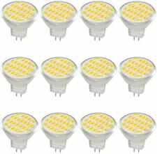 12x Jenyolon MR11 GU4 LED Bulb Light Lights DC/AC 12V 3W 30W Halogen Warm White