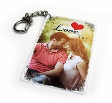 Valentines Day Personalised Keyring & Fridge Magnet Love Couple Present