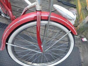 vintage schwinn bicycle truss bar fork 26 in  fork truss bars only