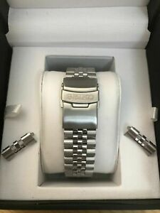 NEW 20MM DIVERS JUBILEE STAINLESS STEEL WATCH STRAP/BRACELET FOR SEIKO watch.