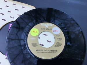 KAY STARR WHEEL OF FORTUNE ~ SIDE BY SIDE  V 45 7  F2