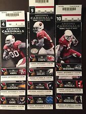 Arizona Cardinals 2014 Nfl ticket stubs - One ticket