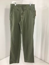 VINTAGE 1946 MEN'S MILITARY TWILL CHINO PANT OLIVE 33X34 NWT $100