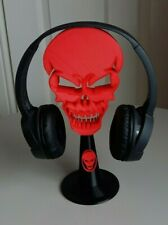 Skull Headphone Stand Gaming Headset Mount Storage 3D Printed Choose Your Colour