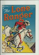 LONE RANGER #4 1948 DELL COMICS  GOLDEN AGE  TONTO  SILVER   NICE  SOLID FN/V/F