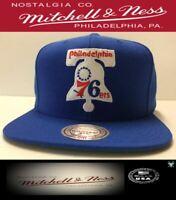 Philadelphia 76ers Hat Mitchell & Ness NBA Basketball Snapback Cap Liberty Bell