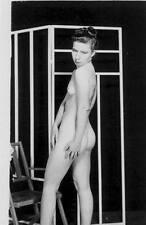 Akt Vintage Foto - leicht bekleidete Frau aus den 1950er/60er Jahren (77) /S200