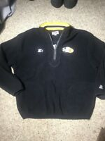 Vintage Starter NFL Pittsburgh Steelers Pullover Fleece Jacket Pro Men's XXL