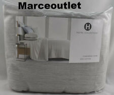 Hotel Collection Yarn Dyed 525 Thread Count Cotton KING Duvet Ash Gray
