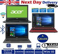 "Cheap Acer Aspire 15.6"" Laptop Intel i3, i5 500GB, 1-TB HDD SSD Win 10 A Grade"