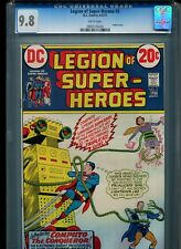 Legion of Super-Heroes #3 CGC 9.8 (1973) Superboy White Pages Highest Grade