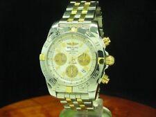 Breitling Chronomat 44 18kt 750 Gold Edelstahl Automatic Herrenuhr / Ref IBO110