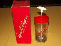 VINTAGE BAR & KITCHEN RED SPEED E WHIPPER BLENDER MIXER IN BOX