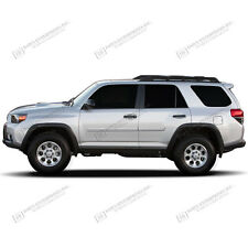 For: TOYOTA 4RUNNER; PAINTED Body Side Moldings With Chrome Insert 2010-2017