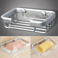 Space Aluminum Alloy Wall Mounted Bath Shower Soap Dishes Storage Shelf Holder