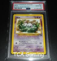 "PSA 10 GEM MINT Mew # 47 WOTC Black Star Promo ""Lilypad"" Pokemon Card"