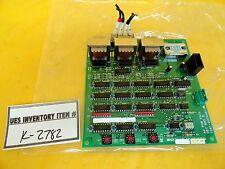 TEL Tokyo Electron 1D81-000065-1 AC POW FAIL DET BRD B PCB Unity II Used Working