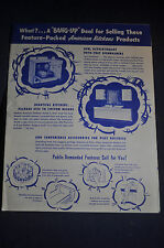Ca 1960 American Kitchens Dishwashers, Sinks, Disposers and More! Brochure
