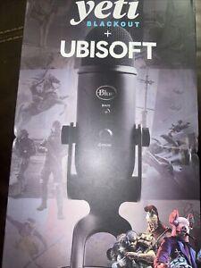 Blue Yeti Blackout + Ubisoft 988-00481 -New in Sealed Box