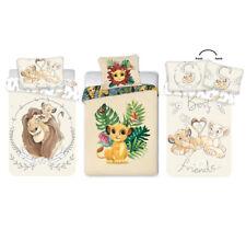 Baby Kinder Bettwäsche DISNEY 100x135 2tlg KÖNIG DER LÖWEN WENDE BETTWÄSCHE LION