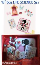 "Our Generation 18"" Doll SCHOOL LIFE SCIENCE LAB CLASS Set for American Girl Boy"