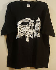 DEATH BLOODY DRIP LOGO Official T-SHIRT XL Chuck Schuldiner Metal NEW
