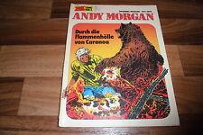 Hermann / Greg -- ANDY MORGAN // Zack Box  # 6 // FLAMMENHÖLLE CARANOA 1973
