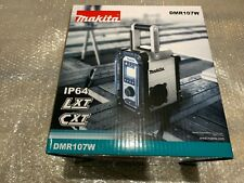 Makita DMR107W LXT CXT 7.2v 18v White LI-ion Job Site Radio