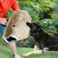 Heavy Duty Jute Dog Bite Sleeve Arm Training Protection for Large Dogs Pitbull