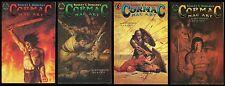 Robert E. Howard's Cormac Mac Art Comic set 1-2-3-4 Lot REH John Bolton cvr art