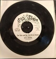 45rpm Billy Meshel The Tiger and the 71st Street Sharks/My Little Angel VG