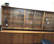 Large Timber Display case Cabinet  Bookcase  Silky Oak