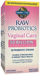 Raw Probiotics Vaginal Care by Garden of Life, 30 capsule