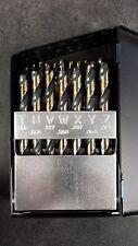 NEW Norseman CTD 88660 26pc SP-26 Letters A-Z Drill Bit Set
