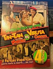 TIN-TAN Y SU CARNAL MARCELO VS VIRUTA Y CAPULINA 4 PELICULAS