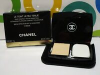 CHANEL ~ LE TEINT ULTRA TENUE FLAWLESS COMPACT FOUNDATION ~ # 10 BEIGE ~ BOXED