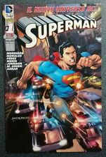 SUPERMAN n. 1 SUPER VARIANT SILVER - Lion - DC - NUOVO / New 52 / Universo DC