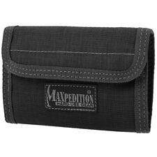 Maxpedition Spartan Wallet Hommes Nylon Trifold Voyage Argent Support Noi