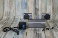 Sony Portable Active Speaker System For Walkman Discman SRS-T77 TESTED & EUC✨