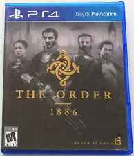 THE ORDER 1886 PS4 GIOCO PLAYSTATION 4 VERSIONE USA NTSC INGLESE COME NUOVO