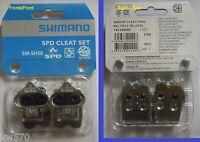 Shimano - Paire Taquets / Set Original Sm-Sh56 + Vis + Écrou B - Nouveau
