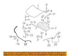 Infiniti NISSAN OEM 09-13 G37 Hood-Latch Lock Release Cable 65620JK61A
