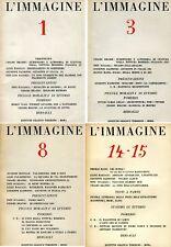 L'Immagine, Anno I e II, Numeri 1-16, 1947-1951. Tutto il pubblicato