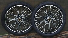 "Worksman Tricycle Bike 20"" WHEELS TIRES Vintage Delivery Cart Trike Bicycle Hub"